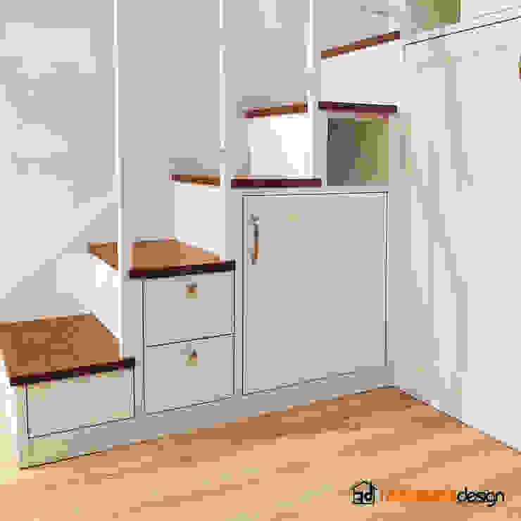 Scale Falegnamerie Design Scale Legno Bianco