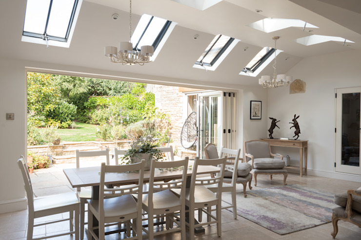 Conservation Rooflights at Private Residence, Peterborough Clement Windows Group Dachfenster Metall