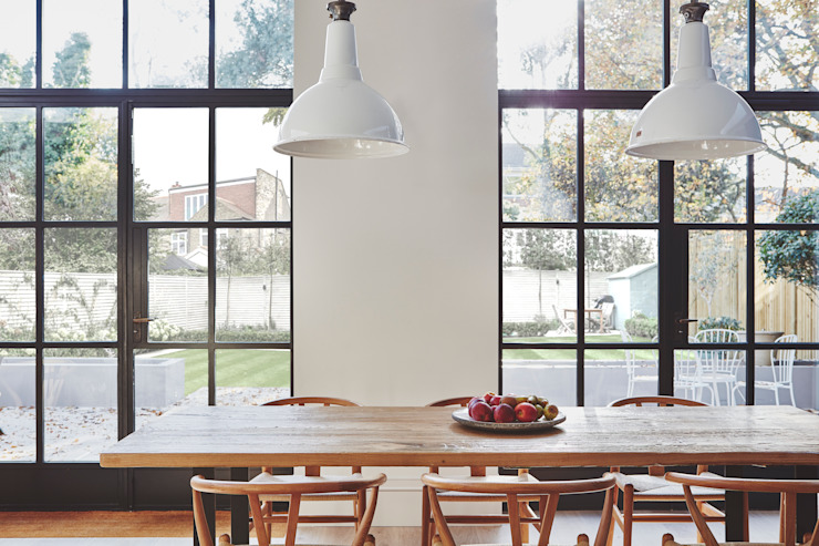 Private Residence, London Clement Windows Group Modern windows & doors Iron/Steel