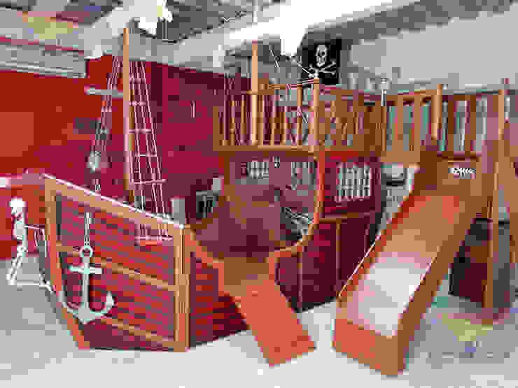 Kids Wolrd- Recamaras Literas y Muebles para niños Kamar tidur anak laki-laki Kayu Buatan Wood effect