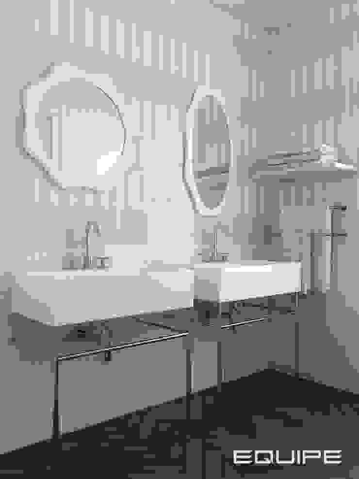 Equipe Ceramicas Kamar Mandi Klasik Ubin Pink