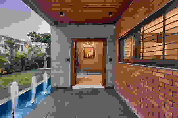 Main Door ACE Associates Bungalows