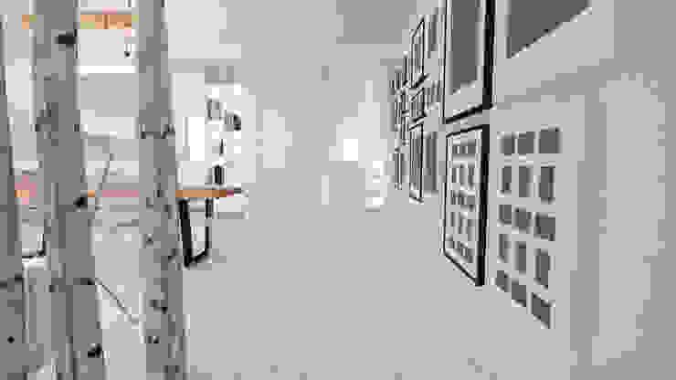 CARLO CHIAPPANI interior designer ระเบียงและโถงทางเดิน