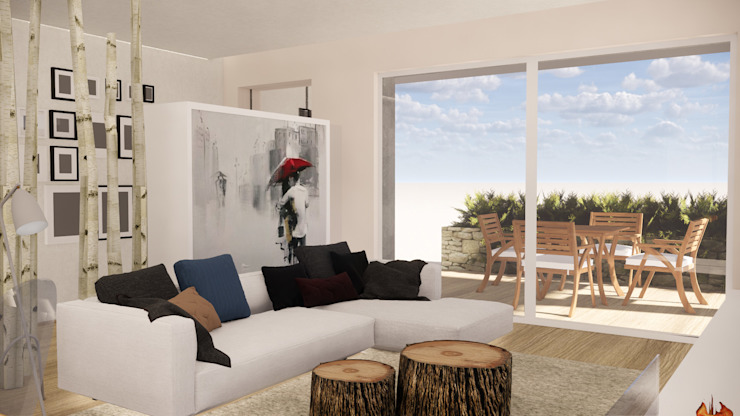 CARLO CHIAPPANI interior designer ห้องนั่งเล่น