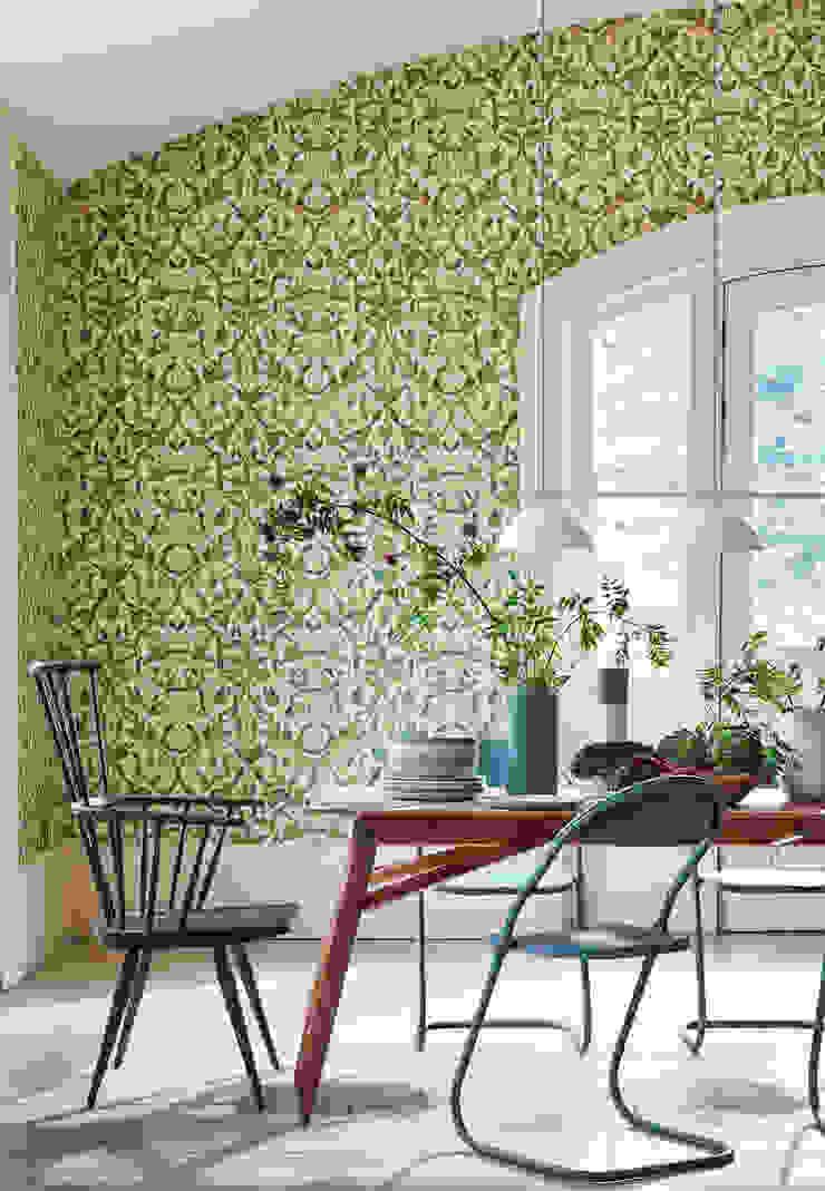 BONATI & BENEGGI Classic style dining room Solid Wood Green