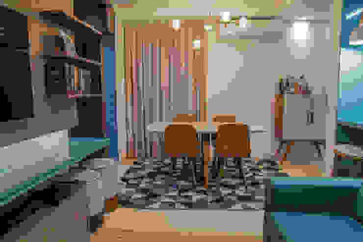 Camarina Studio Modern Dining Room Turquoise