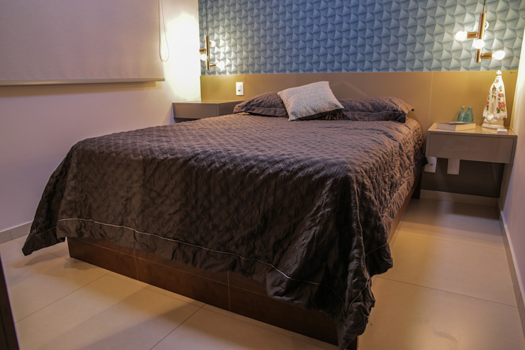 Camarina Studio Modern Bedroom Turquoise
