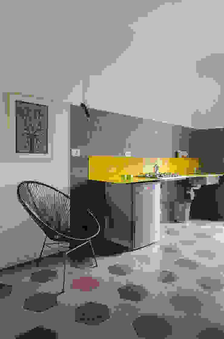 CUCINA GIALLA Cerra+Corbani Cucina minimalista