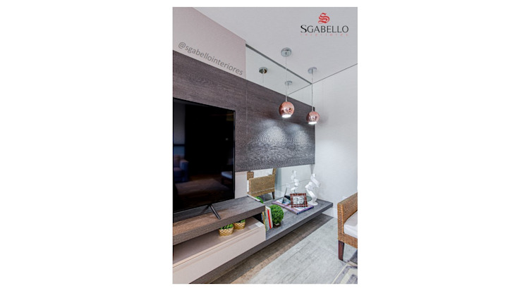 Sgabello Interiores Living roomTV stands & cabinets MDF Wood effect