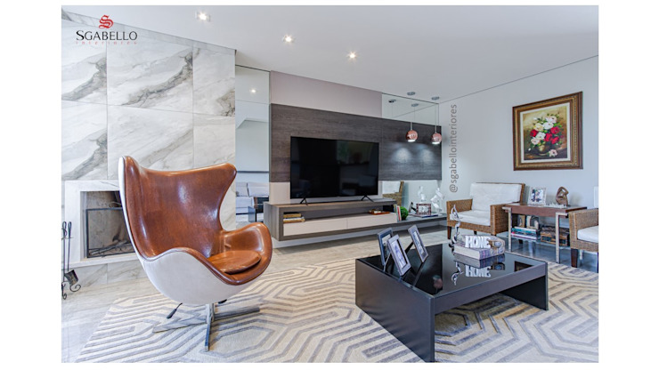 Sgabello Interiores Living roomTV stands & cabinets Ceramic Grey