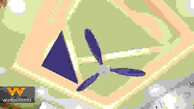 Camera da letto moderna di Wudbell Interior Design Company Moderno