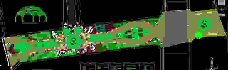 Plano de distribución ROQA.7 ARQUITECTURA Y PAISAJE Jardines de estilo tropical