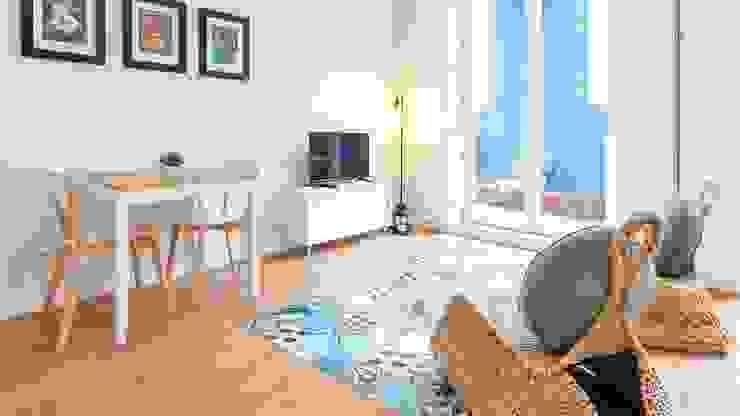 Mais um protejo de turismo local terminado com sucesso, muito perto do Centro da Cidade do Porto, com qualidade e requinte. 🛋️ Casa Moura Interiores Salas de estar modernas