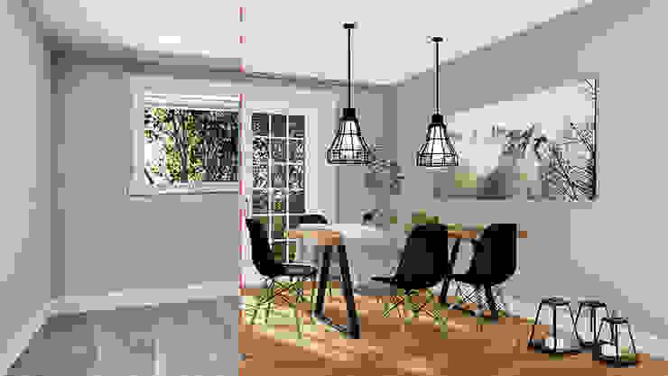 Wohnzimmer lehrstehend + neu eingerichtet von MITKO DESIGN