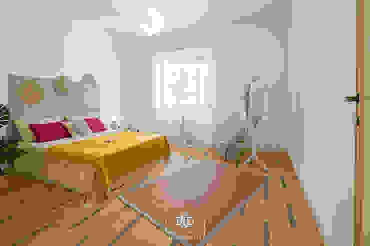 Elementi Naturali BID-Homestaging Beatrice e Ilaria Dell'Acqua Camera da letto moderna Verde