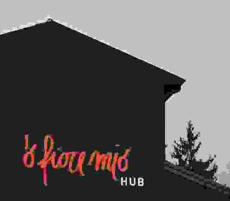 O' Fiore Mio Hub esterno Bar & Club moderni di BARTOLETTI CICOGNANI Moderno