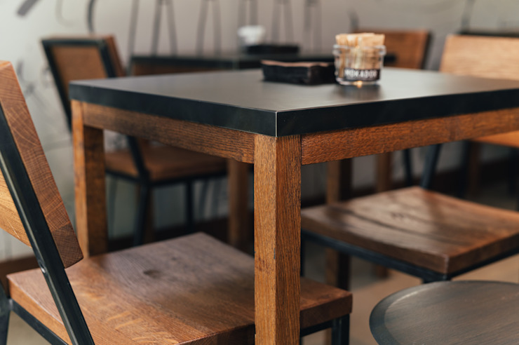O' Fiore Mio Hub dettaglio tavolo Bar & Club moderni di BARTOLETTI CICOGNANI Moderno