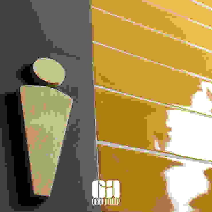 Identificação para casa de banho OBRA ATELIER - Arquitetura & Interiores Casas de banho modernas