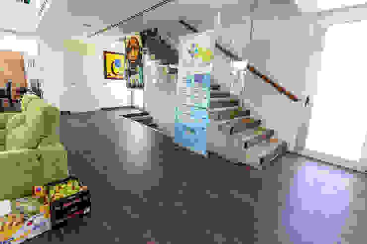 ROMESUR Stairs Tiles Brown