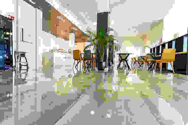 ROMESUR Salle à manger moderne Céramique Gris