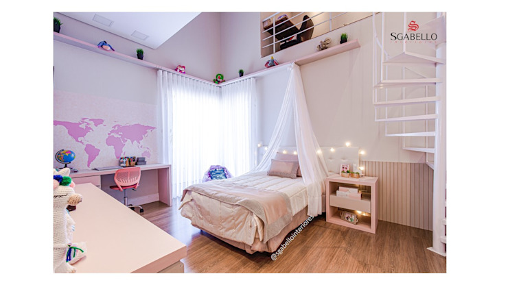 Sgabello Interiores BedroomBeds & headboards MDF Pink
