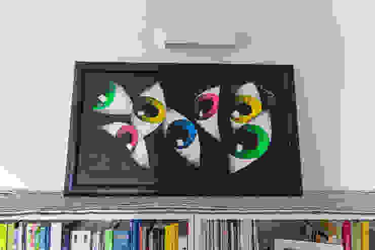 Opere d'arte in Casa antonio felicetti architettura & interior design Sala da pranzo moderna
