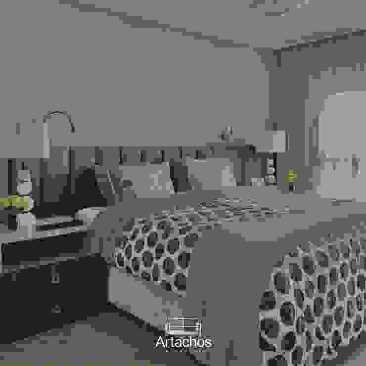 Artachos Decorações 寝室ベッド&ヘッドボード
