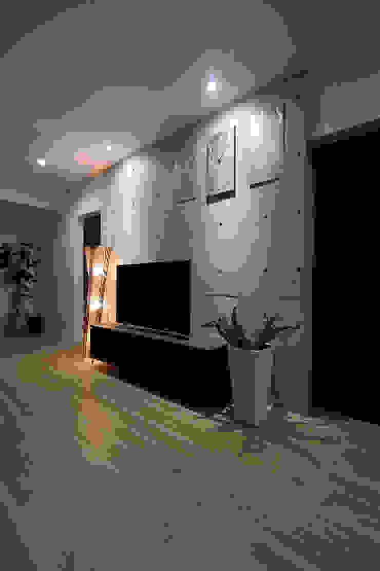 TVボード Style Create モダンデザインの リビング