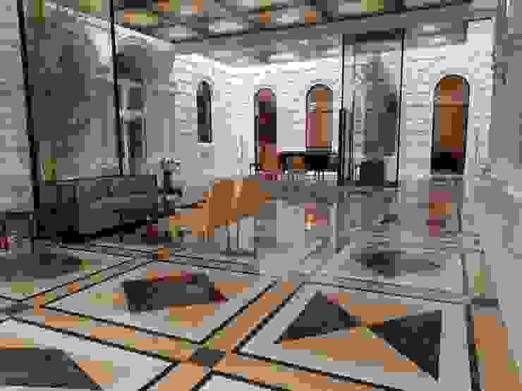 Palais Schottenring Vienna Lobby Stroili Stone GmbH Boden Marmor Mehrfarbig