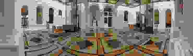 Palais Schottenring Vienna Lobby Stroili Stone GmbH Klassische Wohnzimmer Marmor Mehrfarbig