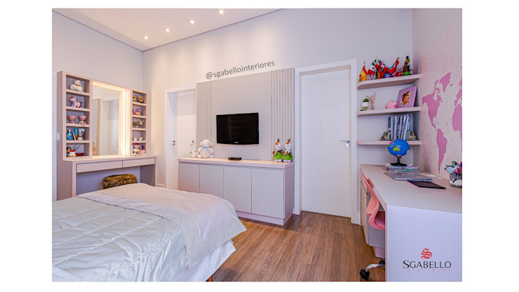 Sgabello Interiores BedroomWardrobes & closets MDF Pink