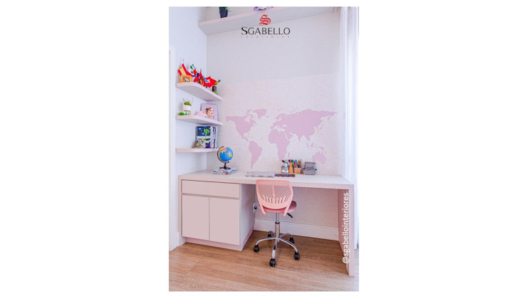 Sgabello Interiores Nursery/kid's roomDesks & chairs MDF Pink