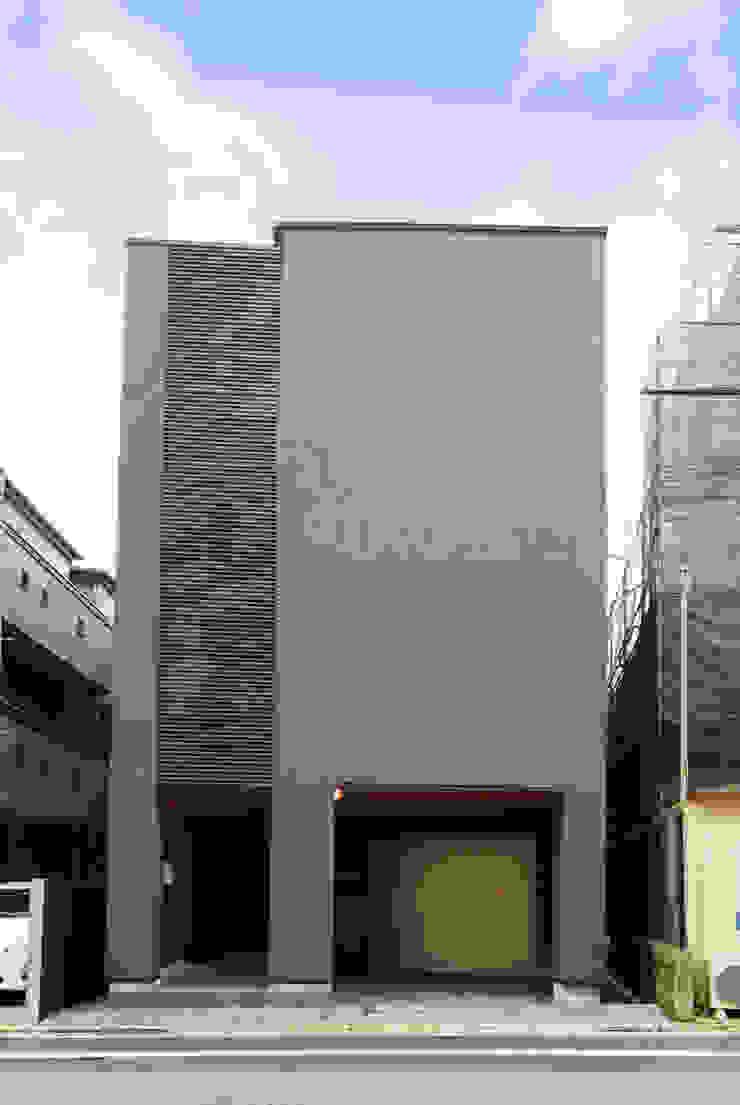 TERAJIMA ARCHITECTS/テラジマアーキテクツ Дерев'яні будинки Сірий