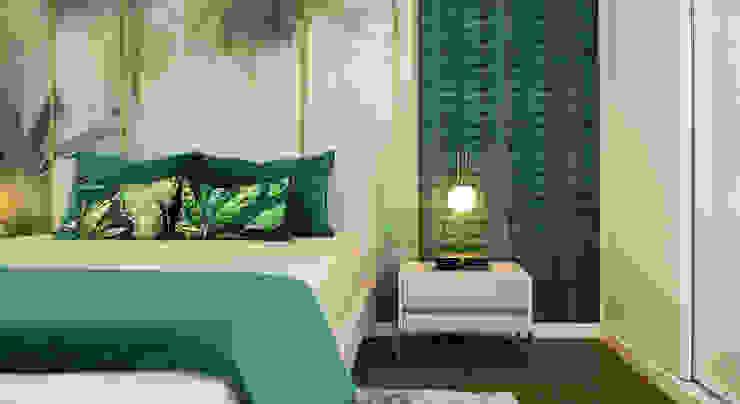 Decoração de quarto Glim - Design de Interiores QuartoCamas e cabeceiras
