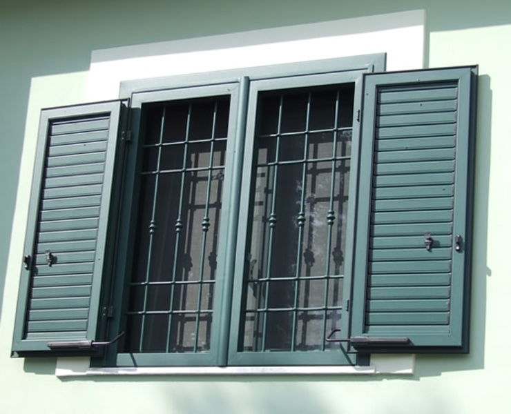 LE.ALL.FER. S.r.l. Shutters Iron/Steel Green