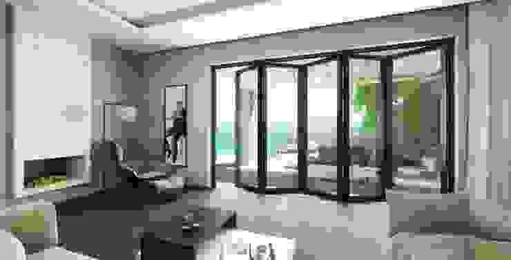 LE.ALL.FER. S.r.l. Villas Aluminium/Zinc Black