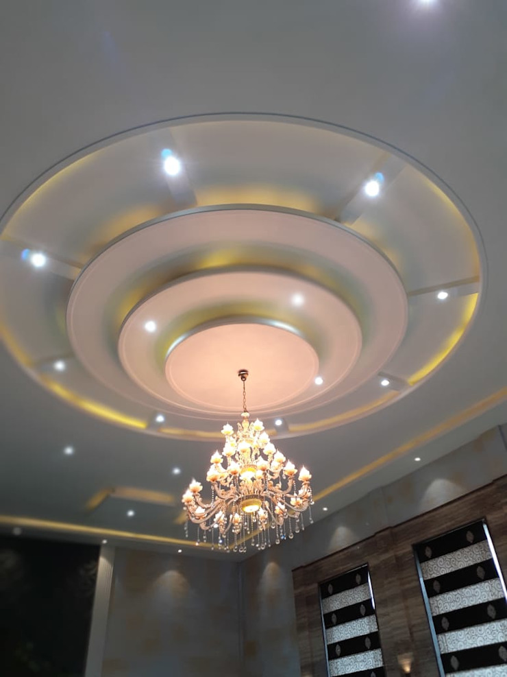 Luxury Residential Interior design project in Mahanagar Lucknow by Decoruss (Interior designer Company) by Decoruss-Best Residential Interior Designer in lucknow,Best Interior Designing Services in lucknow, Interior decorator Modern