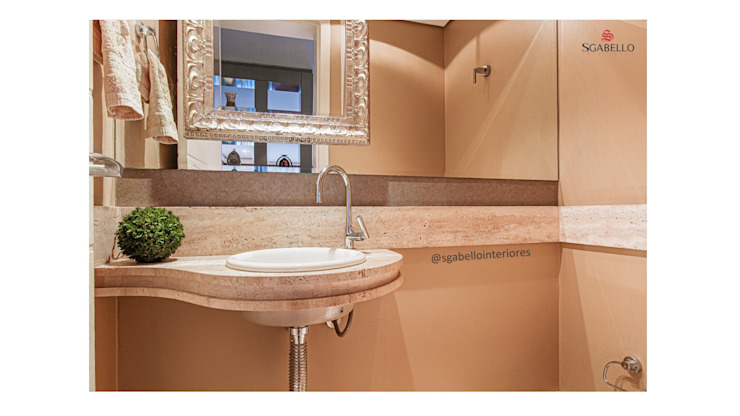 Sgabello Interiores BathroomMirrors