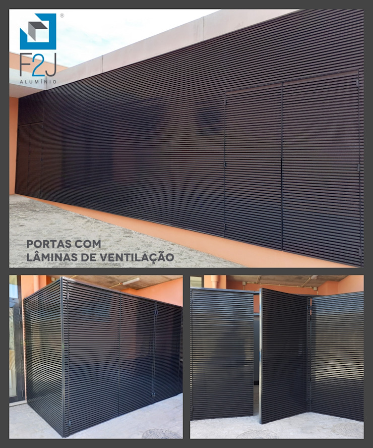 F2J, Lda. Basement windows Aluminium/Zinc Multicolored