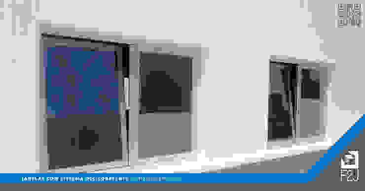 F2J, Lda. Modern windows & doors Aluminium/Zinc Multicolored