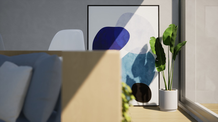 Escala Absoluta Modern living room Wood effect