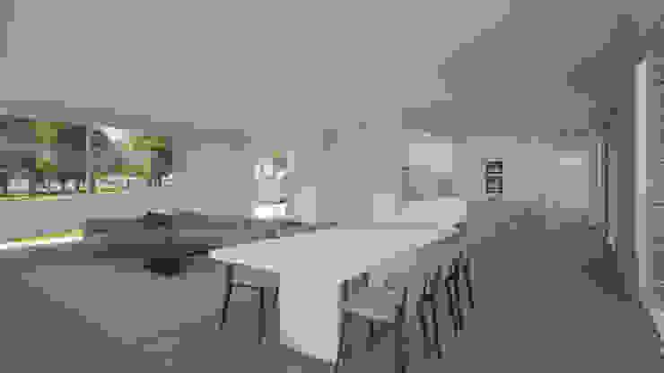 Escala Absoluta Modern living room