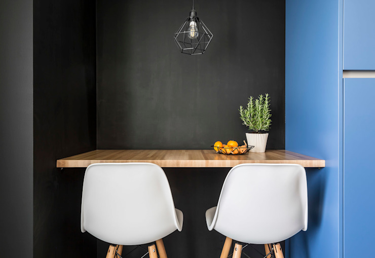 Housing in Benimaclet tambori arquitectes 餐廳