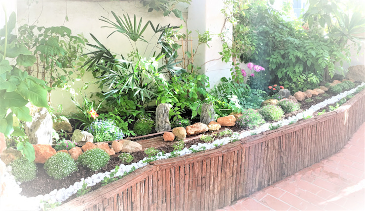 Jardines Feng Shui Rock Garden
