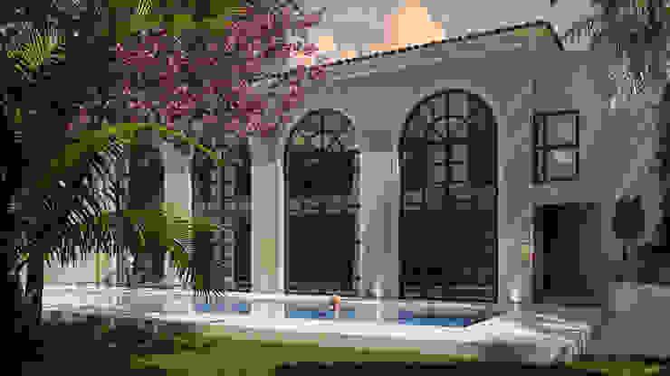SG Huerta Arquitecto Cancun Villas Limestone White