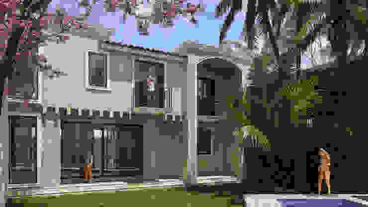 SG Huerta Arquitecto Cancun Detached home Limestone White