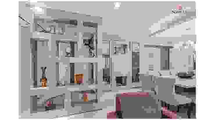 Sgabello Interiores Living roomShelves Beige