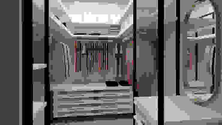 cabina armadio Alessandra Sacripante Camera da letto moderna