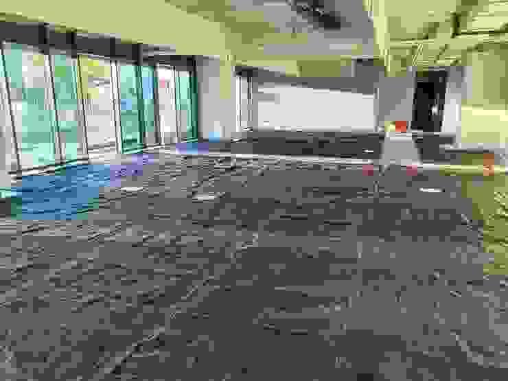 Riscaldamento a pavimento nuovi uffici direzionali LAB44 Srl Pavimento