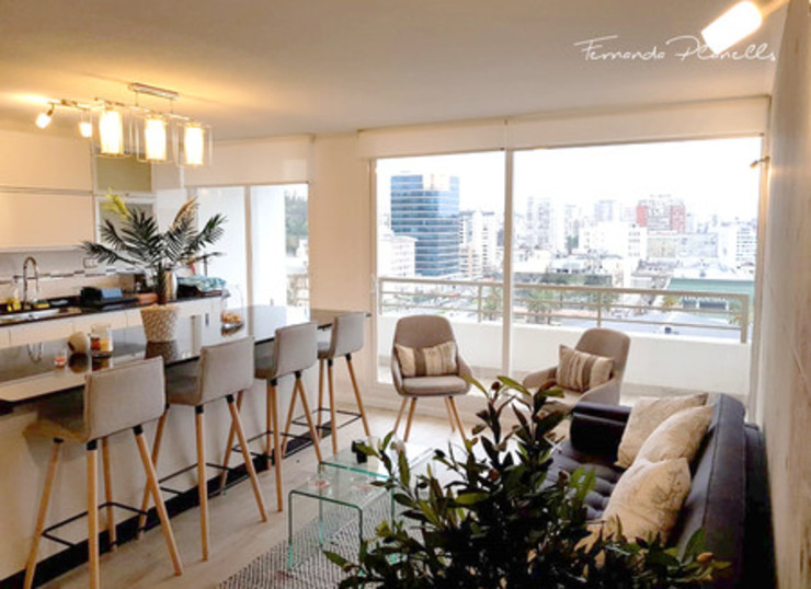 Planells Ruang Keluarga Modern